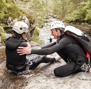 Canyoning canyons haute savoie